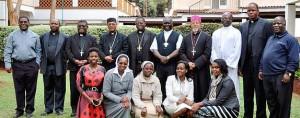 AMECEA Executive Board members and Secretariat staff members